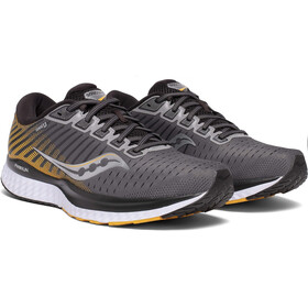 saucony Guide 13 Chaussures Homme, grey/yellow